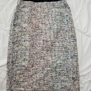NWT Philosophy Tweed High Waisted Skirt